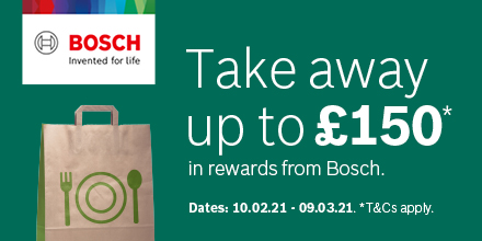 Bosch Take away upto £150
