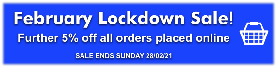 February Lockdown sale