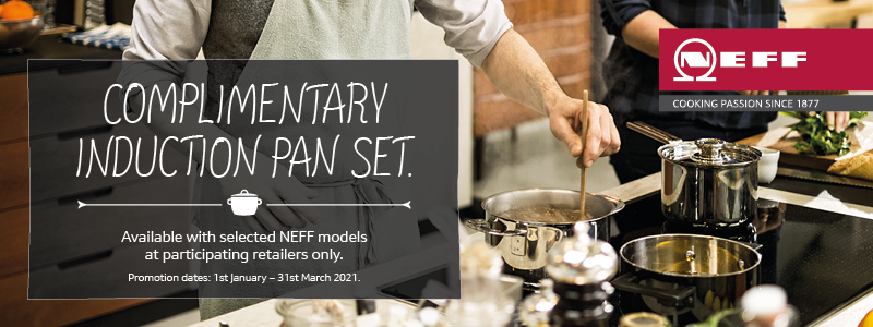 NEFF Induction pans set