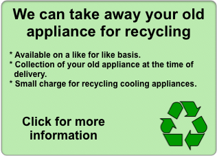 Recycle old appliances