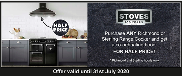 Stoves Hood Promotion